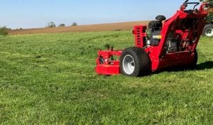 Commercial mower hire