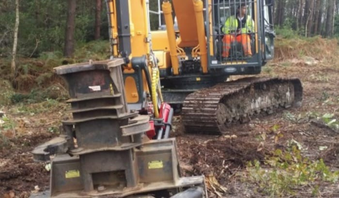 Excavator Forestry Hire Nationwide