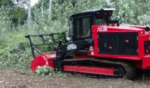 Fecon ftx128l 130hp mulcher hire