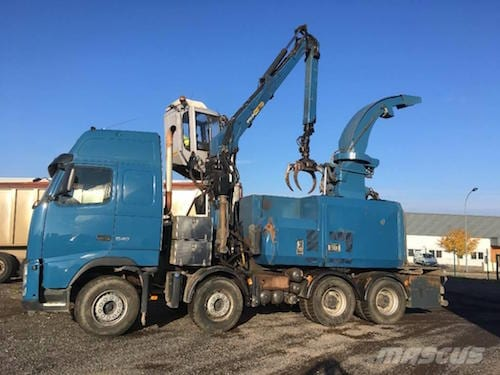 truck mounted-chipper