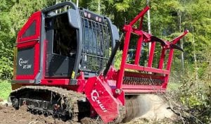 ahwi rt200 220hp forestry mulcher hire