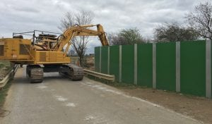 excavator flail hire