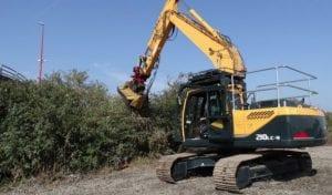 excavator mulcher hire nationwide