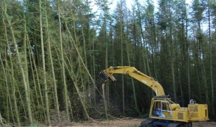 excavator mulcher nationwide hire
