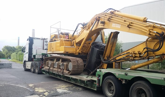 forestry excavator hire