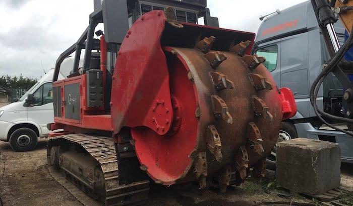 large stump grinder hire