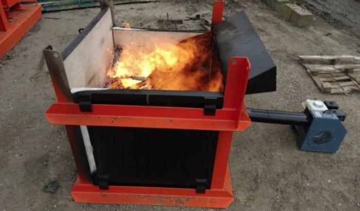 micro incinerator hire