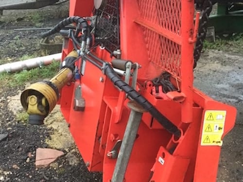 forestry winch hire